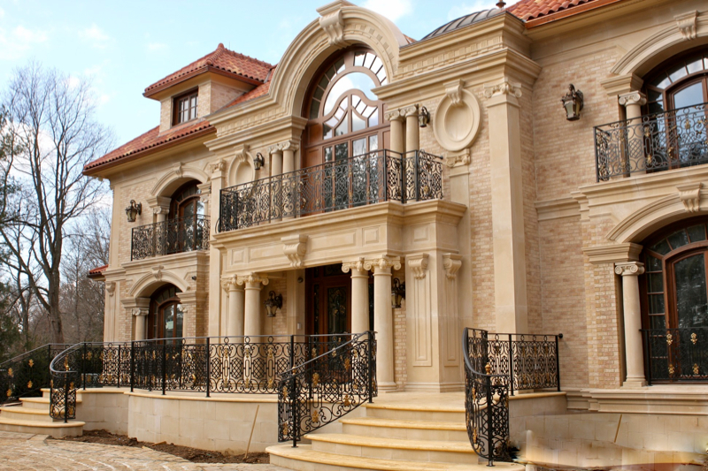 Residential Stone Columns : Residential « architectural stone llc