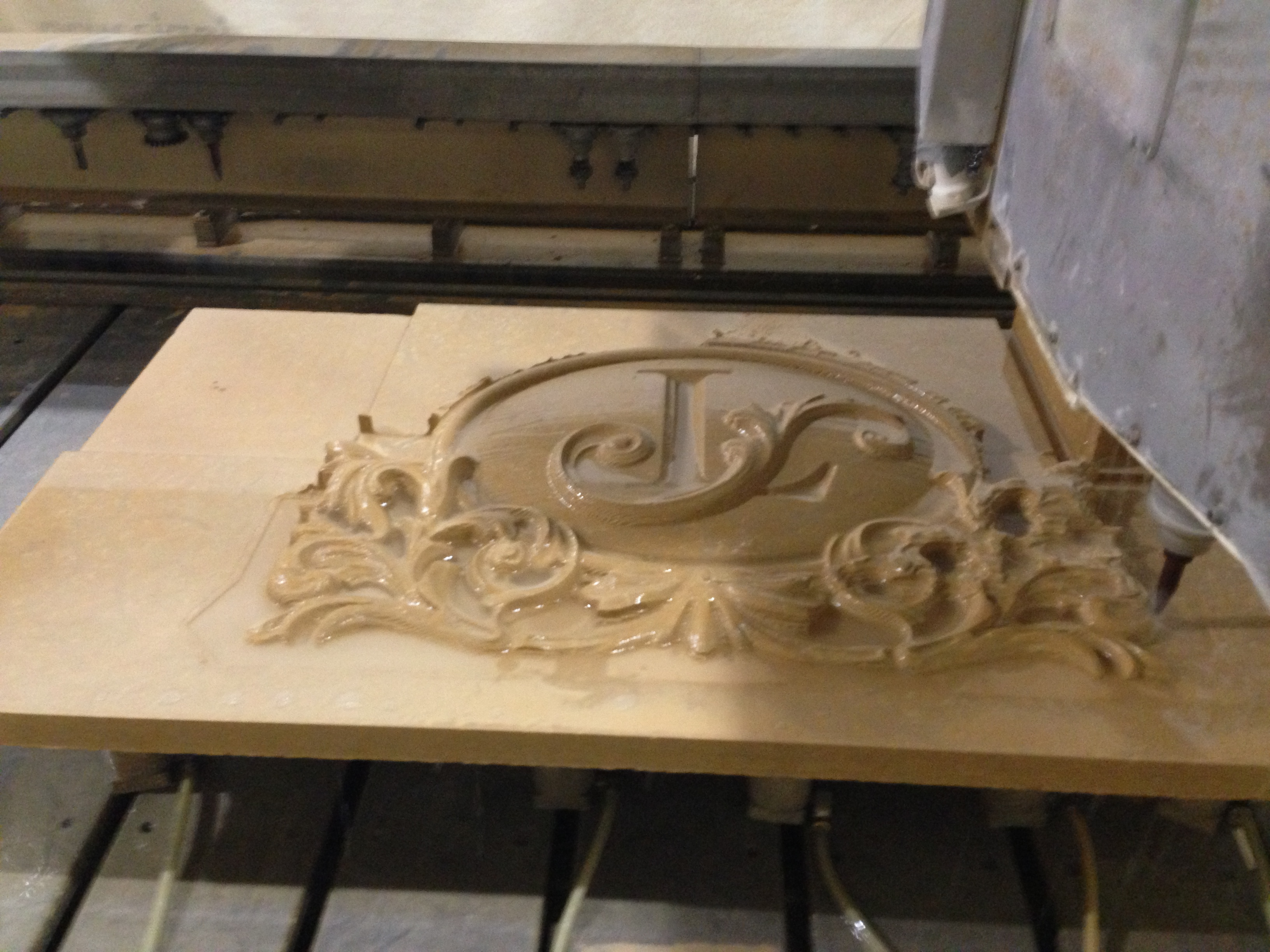 Custom carved panel « architectural stone llc